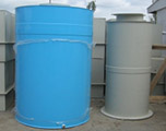 Цилиндрическая емкость для воды